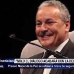 Trujillo: Premio Nobel de la Paz se refiere a crisis de seguridad en la ciudad
