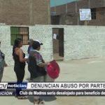 Trujillo: Club de madres denuncia abuso por parte de MPT