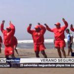 Chiclayo: 25 salvavidas resguardarán playas tras capacitación