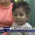 La Libertad: Amplían campaña de vacunación contra el sarampión y rubeola