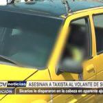 Huanchaco: Asesinan a taxista al volante de su vehículo