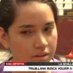 Trujillana busca volver a la selección peruana de tenis de mesa