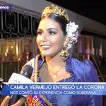 Infomarinera: Camila Vermejo entregó la corona y cuenta su experiencia