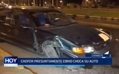 Chimbote: Conductor casi pierde la vida en accidente