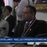 """Edwin Castellanos: """"En la Casa de Gobierno los consejeros estamos hacinados"""""""