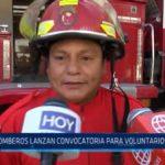 Trujillo: Bomberos lanzan convocatoria para voluntarios