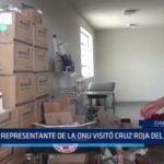 Chimbote: Representante de la ONU visitó Cruz Roja del Santa