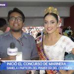 Infomarinera: Daniela I participa del primer día del certamen
