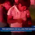 Piura: Tres detenidos en Sullana por narcotráfico
