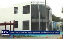 """Trujillo: Elidio Espinoza """"En Víctor Larco se compraron 150 cámaras en 10 años"""""""