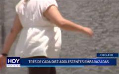 Chiclayo: 3 de cada 10 adolescentes embarazadas