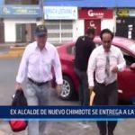 Chimbote: Ex alcalde de Nuevo Chimbote se entrega a la justicia