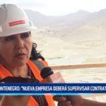 """Montenegro: """"Nueva empresa deberá supervisar contrataciones"""""""