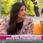"""Magaly Solier es declarada """"Artista por la Paz"""" por la UNESCO"""