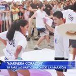 """Infomarinera: 119 parejas participaron de la maratón """"Marinera corazón"""""""