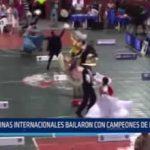 Trujillo: Reinas internacionales bailaron con campeones de Marinera