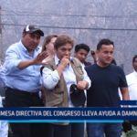 Lima: Mesa Directiva del Congreso lleva ayuda a damnificados
