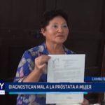 Chimbote: Diagnostican mal de próstata a mujer
