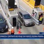Lima: Contrato de peaje en Puente Piedra podría anularse