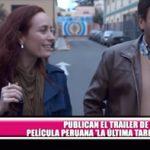 """Publican tráiler de película peruana """"La última tarde"""""""