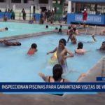 Chiclayo: Inspeccionan piscinas para garantizar visitas de veraneantes