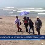 La Libertad: Gerencia de Salud supervisa estado de playas de la región