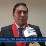 La Libertad: Presidente de la Corte respalda a jueza que liberó a presuntos delincuentes