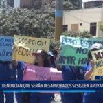 Áncash: Alumnos serían desaprobados si continúan apoyando huelga