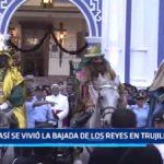 Así se vivió la Bajada de los Reyes en Trujillo