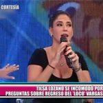 """Tilsa Lozano se incomodó por preguntas sobre el regreso del """"Loco"""" Vargas a Perú"""