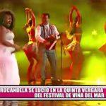 Afrocandela se lució en la Quinta Vergara del Festival de Viña del Mar