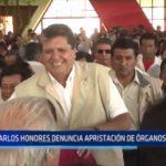La Libertad: Carlos Honores denuncia apristación de órganos jurídicos
