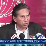 Alejandro Toledo: MININTER ofrece 100 mil soles de recompensa por su captura