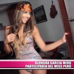 Alondra García Miró participaría en el Miss Perú