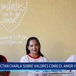 La Esperanza: Municipalidad dicta charla sobre valores como el amor y el respeto