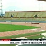 Aurich jugará de local este domingo ante Universitario en Trujillo
