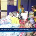 Trujillo: Club de Leones realiza campaña de ayuda a damnificados de Chiclayo