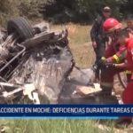 Accidente en Moche: Evalúan deficiencias durante tareas de auxilio a víctimas