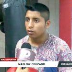 Box: Marlow Cruzado se alista para competir