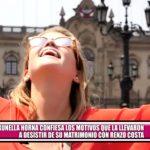 Brunella Horna confiesa los motivos que la llevaron a desistir de su matrimonio con Renzo Costa