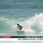 """Doble Corona de Surf este viernes en playa """"La Curvita"""""""