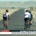 Ciclismo: Deportistas esperan medir su nivel