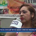 Trujillo: Fiscalizan que no se venda conchas negras por veda