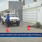 Trujillo: Joven asesinada en hotel de bungalows habría sido estrangulada