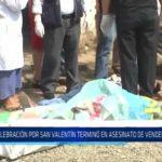Otuzco: Celebración de San Valentín terminó en asesinato de vendedor de cirios