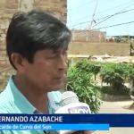 Moche: Pobladores preocupados por calidad de agua en Curva del Sun