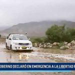 La Libertad: Gobierno declaró la región en emergencia a causa de fuertes lluvias