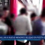 Trujillo: Hallan a 9 menores de edad en fiesta semáforo