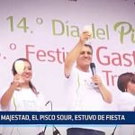 Trujillo: Su Majestad, el Pisco Sour, estuvo de fiesta