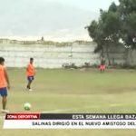 El Inca: Salinas dirigió en el nuevo amistoso y esta semana llega Bazalar
